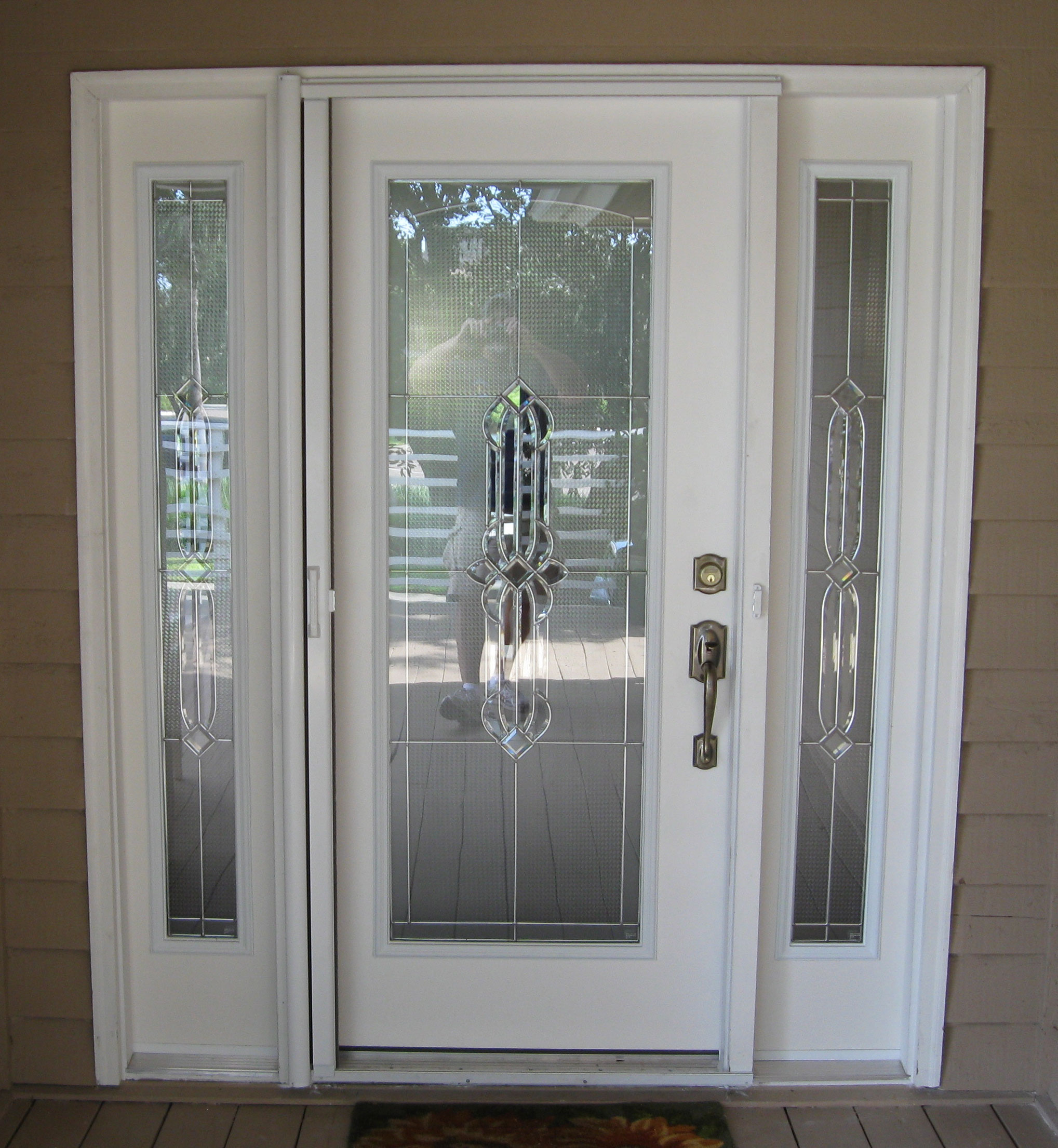 Gulfside glass and mirror tarpon springs florida for Entry doors with glass